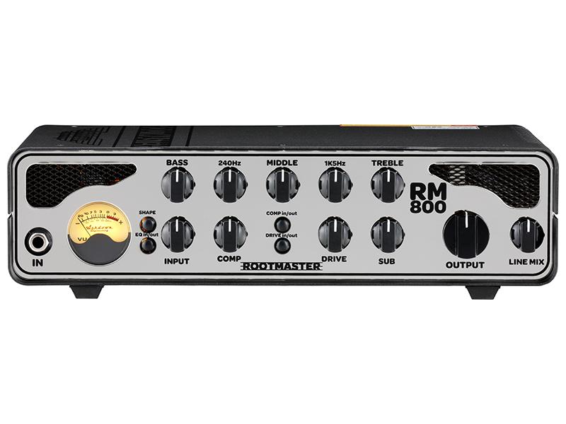 【650W】Ashdown Rootmaster RM800 新品 ベース用アンプヘッド[アッシュダウン][ルートマスター][Bass Amplifier Head,ベースアンプヘッド]