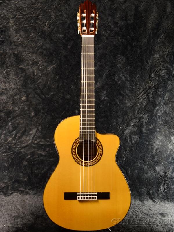 Antonio Sanchez EG-7 Spruce 新品[アントニオサンチェス][スペイン製][ピックアップ搭載][Classic Guitar,クラシックギター,エレガット]