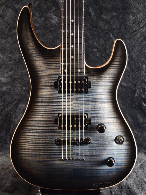 Aria Pro II MAC-8240BE SBKB-(See Through Black Burst)- 新品[アリアプロ2][国産][ブラック,バースト,黒][Stratocaster,ストラトキャスタータイプ][Electric Guitar,エレキギター]