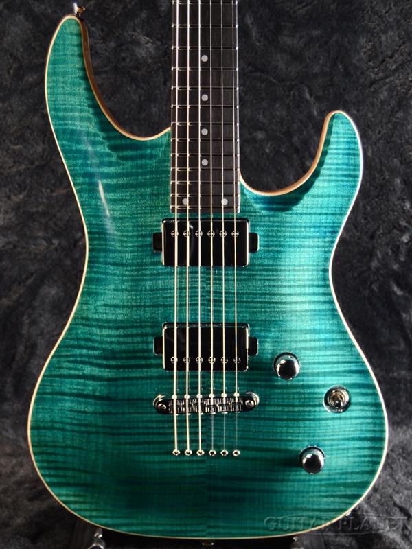 Aria Pro II MAC-8240CE DBBL-(Deep Bora Bora Blue)- 新品[アリアプロ2][国産][ブルー,青][Stratocaster,ストラトキャスタータイプ][Electric Guitar,エレキギター]