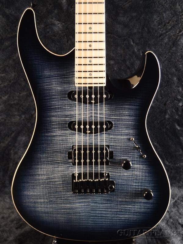 Aria Pro II MAF-8120BM SBKB 新品[アリアプロ2][国産][ブラック,バースト,黒][Stratocaster,ストラトキャスタータイプ][Electric Guitar,エレキギター]