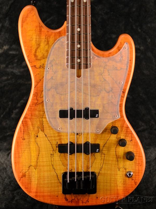 ATELIER Z BabyZ-4J 30th Anniversary Spalted Maple -Orange Burst- 新品 ショートスケール[アトリエZ][国産][オレンジバースト][Short Scale][Electric Bass,エレキベース]