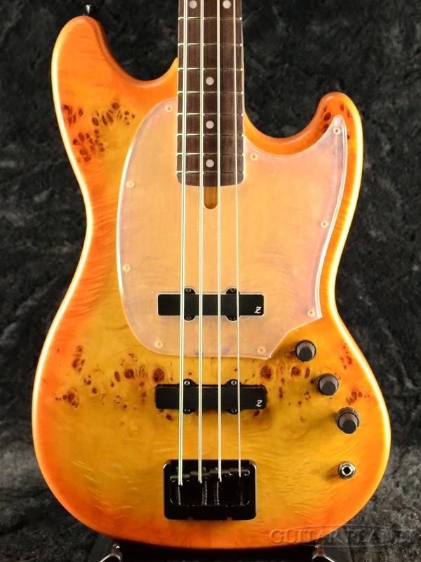 ATELIER Z BabyZ-4J 30th Anniversary Burl Poplar -Orange Burst- 新品 ショートスケール[アトリエZ][国産][オレンジバースト][Short Scale][Electric Bass,エレキベース]