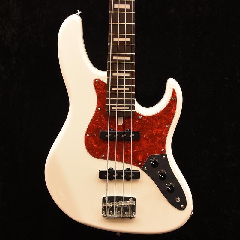 ATELIER Z BETA4 Beta4/Standard -WH/MH- 新品 ホワイト[アトリエZ][国産][White,白][ジャズベースタイプ,Jazz Bass,JB][Electric Bass,エレキベース]