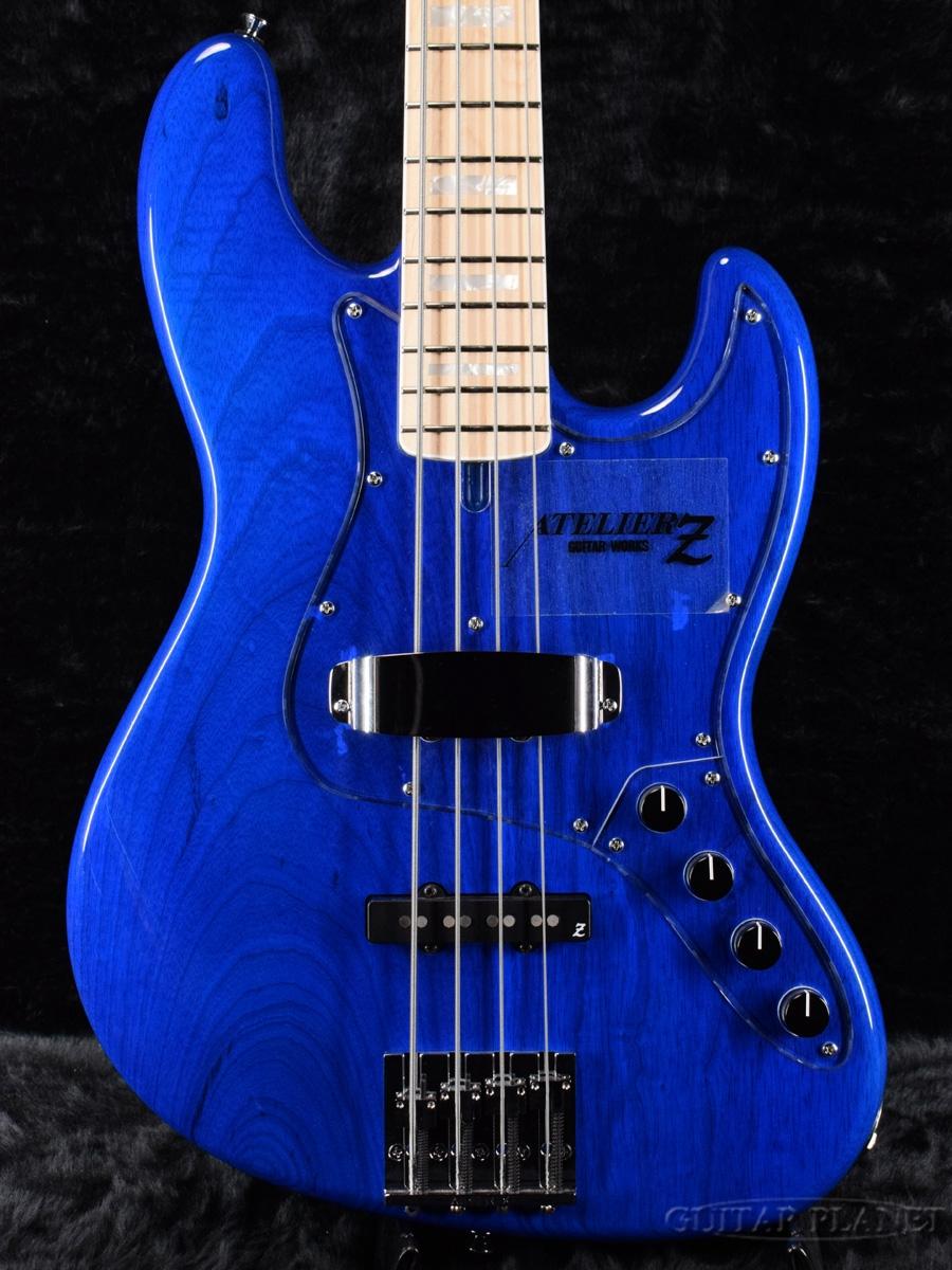 人気を誇る ATELIER Bass] Z M#245 M#245 CTM Z -TP-Blue- 新品[アトリエ][国産][ブルー,青][ジャズベースタイプ,Jazz Bass,JB][エレキベース,Electric Bass], ショウカワムラ:ce6ff2e7 --- paginanueva.multiproposito.com