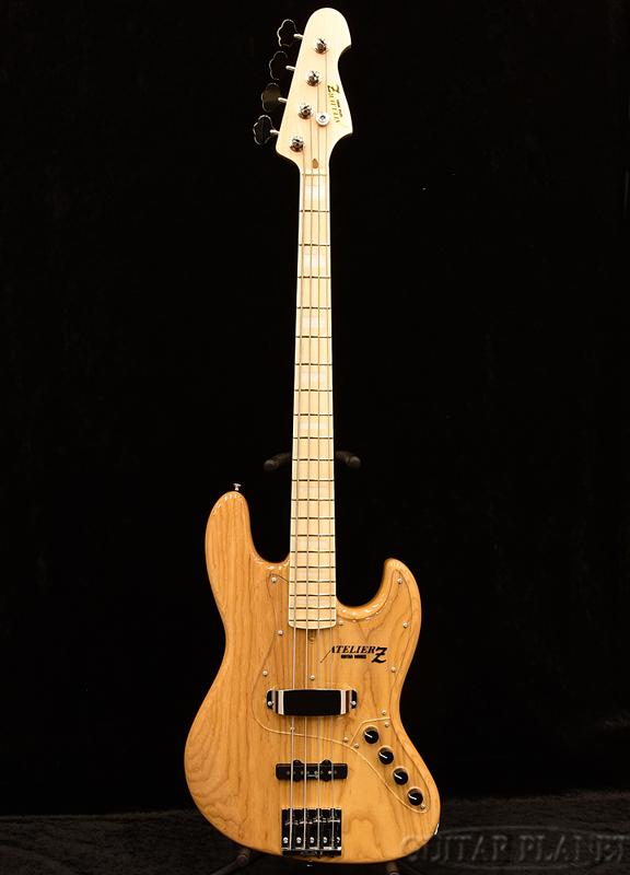 ATELIER Z M#245 -Natural- 新品[アトリエ][国産][ジャズベースタイプ,Jazz Bass,JB][ナチュラル][エレキベース,Electric Bass]