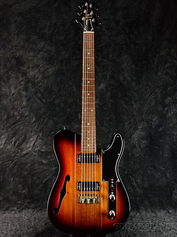 【当店カスタムオーダー品】b3 Phoenix -Dark Cherry Burst- 新品[Telecaster,TL,テレキャスタータイプ][ホロウ][ダークチェリーバースト][ジーン・ベイカー][Electric Guitar,エレキギター]