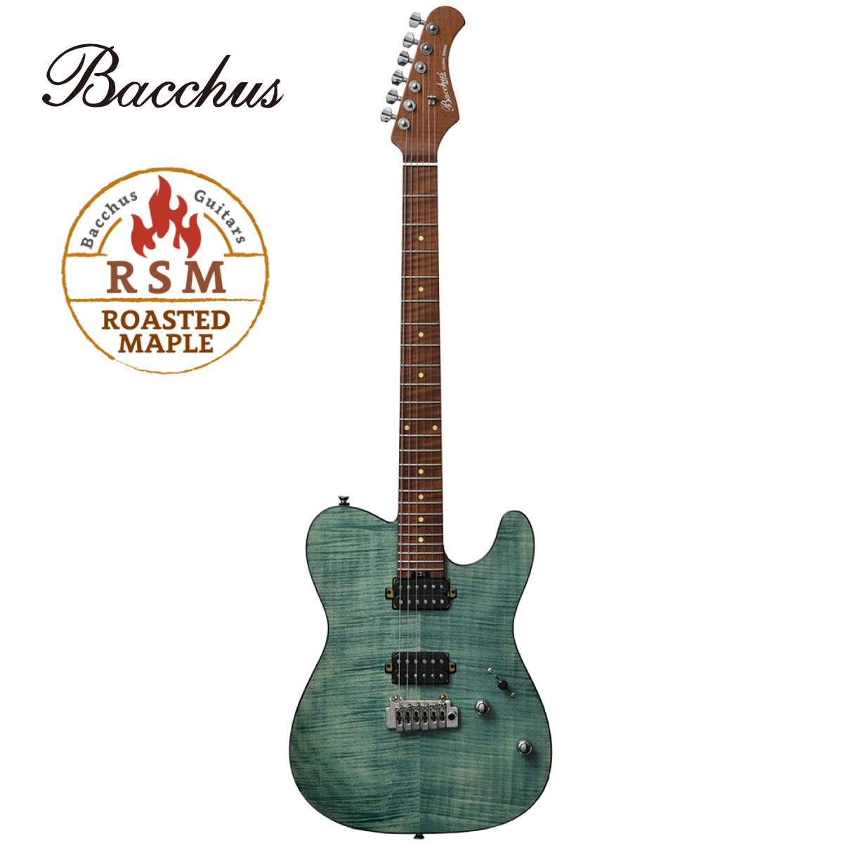 次回入荷分 予約受付中 Bacchus Global Series TACTICS24-FM RSM -ST-SFG- 新品 緑 グリーン Guitar ギター オープニング 大放出セール お買い得 Green バッカス Telecaster テレキャスター