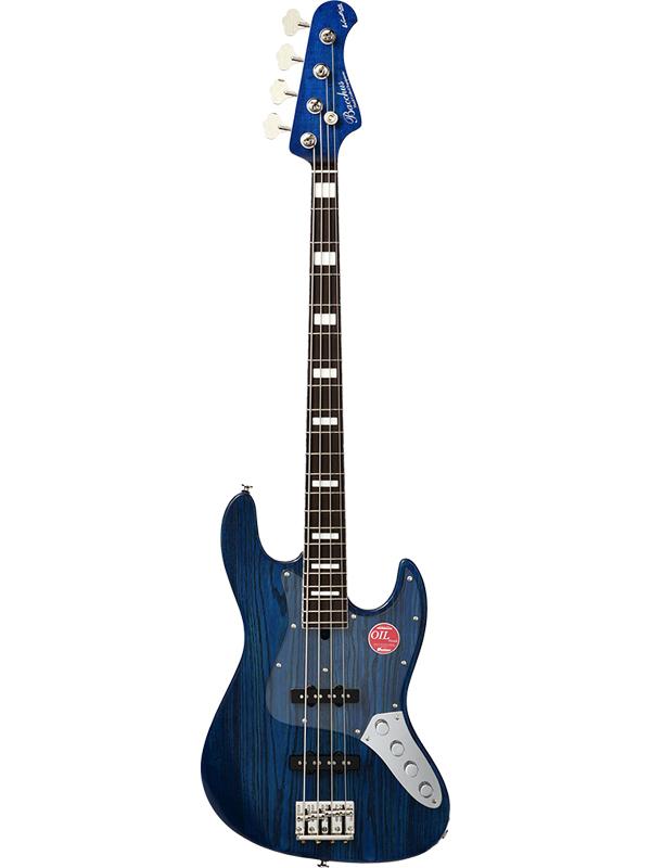 Bacchus WL4DX-ASH AC -Blue Oil- 新品[バッカス][国産/日本製][WOODLINE][ブルーオイル,青][Jazz Bass,ジャズベースタイプ][Electric Bass,エレキベース]