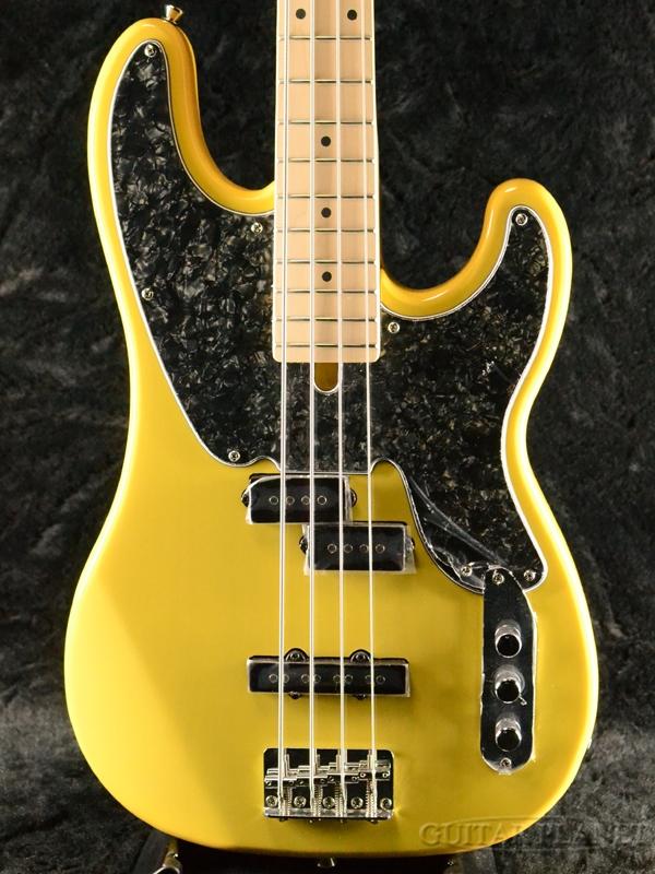 Bacchus BTB-PJ -Blonde- 新品[バッカス][国産][Yellow,ブロンド,イエロー,黄色][Telecaster Bass,テレキャスターベース][Electric Bass,エレキベース]