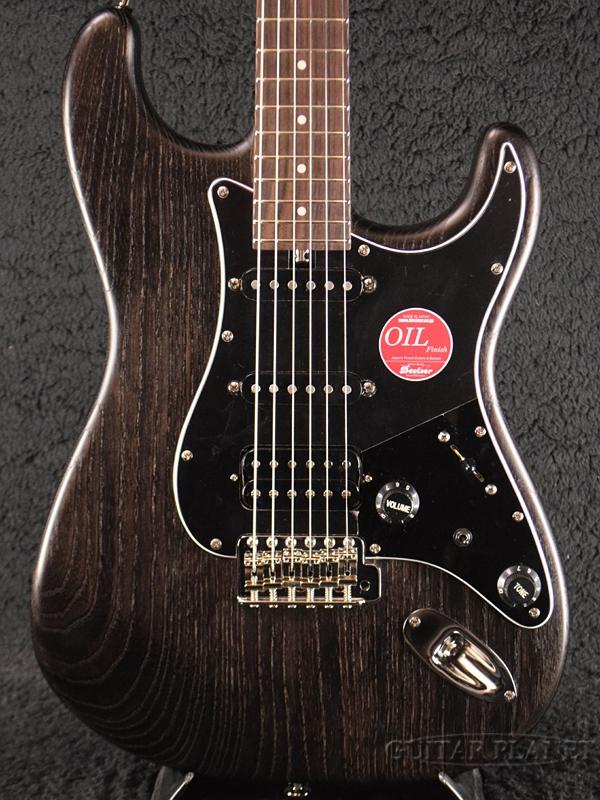 Bacchus G-STUDIO ASH/FS BLK-OIL 新品[バッカス][ハンドメイドシリーズ][ブラックオイル,黒][Stratocaster,ストラトキャスター][Electric Guitar,エレキギター]