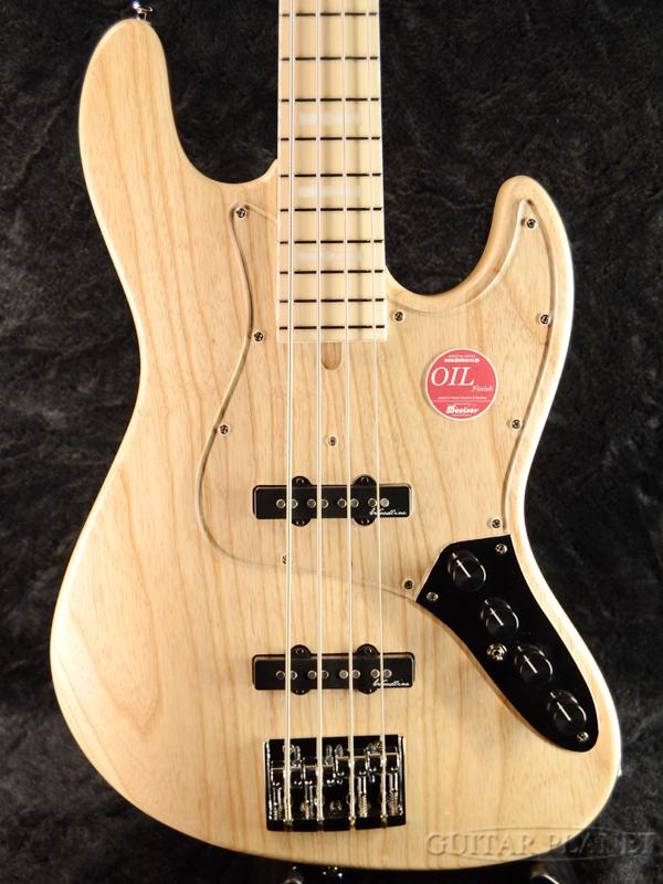 【Aguilar OBP-2搭載】Bacchus WOODLINE417 AC -Natural- 新品[バッカス][国産][ナチュラル,木目][Jazz Bass,ジャズベースタイプ][Electric Bass,エレキベース]