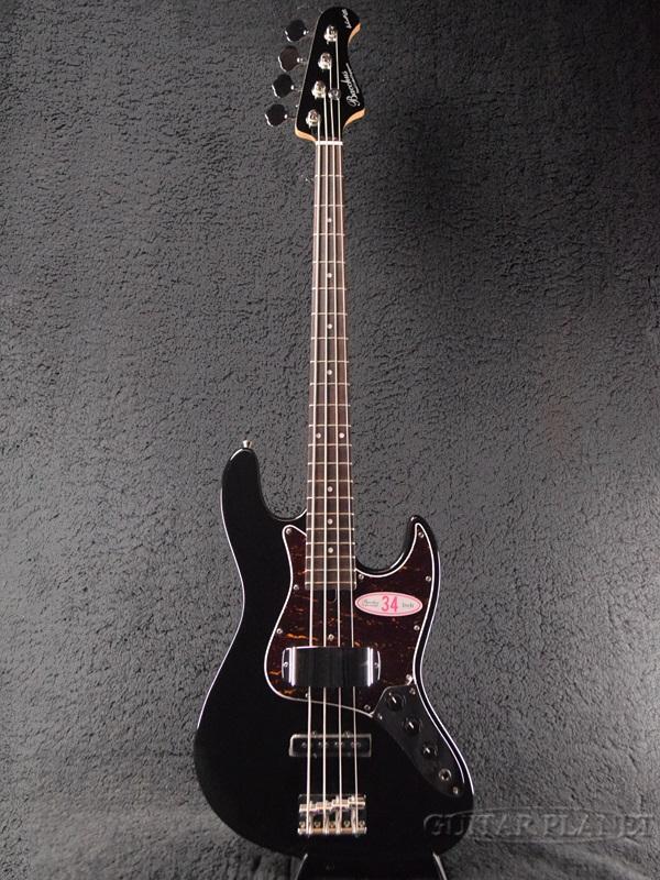【アウトレット大特価】Bacchus GLOBAL Series WL-434 BLK 新品 ブラック[バッカス][グローバルシリーズ][WL434][Black,黒][Electric Bass,エレキベース]