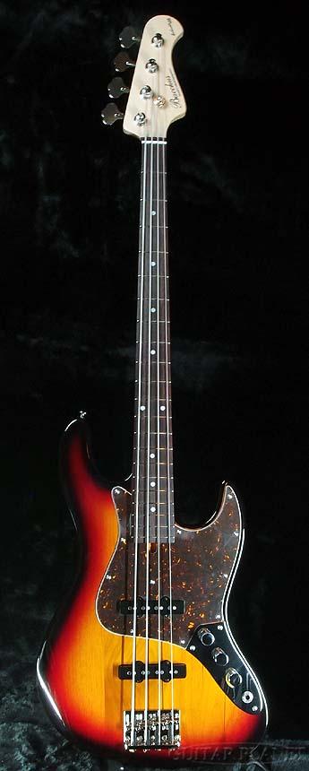 Bacchus Craft Series WL4-ALD 3TS 新品[バッカス][国産][Jazz Bass,ジャズベースタイプ][3-Tone Sunburst,3トーンサンバースト][Electric Bass,エレキベース]