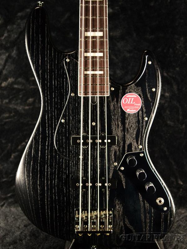 Bacchus WL4DX-ASH -Black Oil- 新品[バッカス][Craft Series,クラフトシリーズ][国産][ブラックオイル,黒][Jazz Bass,ジャズベースタイプ][Electric Bass,エレキベース]
