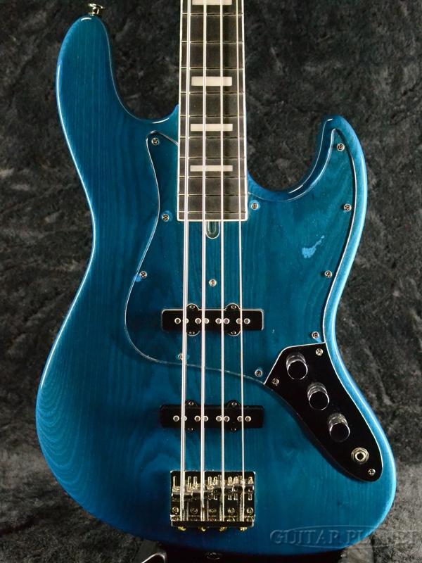 Bacchus WL4DX-ASH -STB- 新品[バッカス][国産/日本製][WOODLINE][Blue,ブルー,青][Jazz Bass,ジャズベースタイプ][Electric Bass,エレキベース]