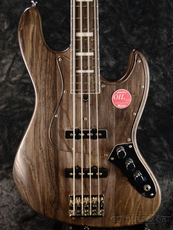 Bacchus ≪アウトレット大特価≫ WL4DX-ASH -CHG Oil- 新品[バッカス][国産/日本製][WOODLINE][Gray,グレー,黒][Jazz Bass,ジャズベースタイプ][Electric Bass,エレキベース]