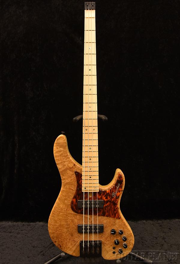 Bacchus WOODLINE-HEADLESS4-SP BM/M -CN-MAT- 新品[バッカス][国産/日本製][ウッドライン][ヘッドレス][ナチュラル][Electric Bass,エレキベース]