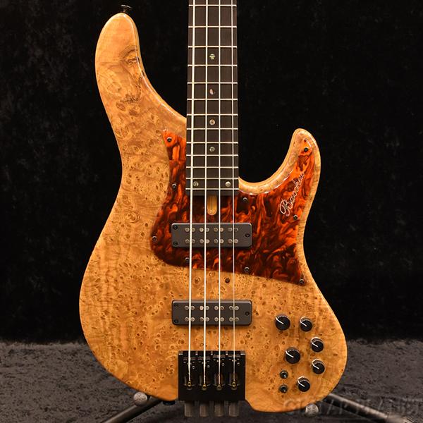Bacchus WOODLINE-HEADLESS4-SP CB/E -CN-MAT- 新品[バッカス][国産/日本製][ウッドライン][ヘッドレス][ナチュラル][Electric Bass,エレキベース]