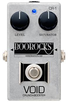 BOOROCKS VOID Crunch-Booster CR-1 新品 クランチブースター [ブロックス][国産][ヴォイド][Crunch Booster][エフェクター,Effector]