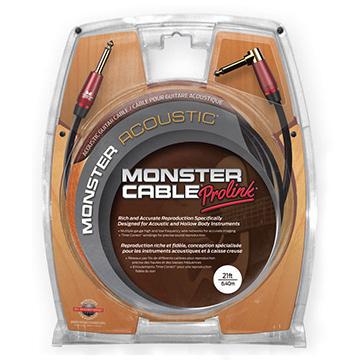 MONSTER CABLE M ACST2-21A S/L 6.4m アコースティック用ケーブル[モンスターケーブル][Acoustic][シールド][Cable]