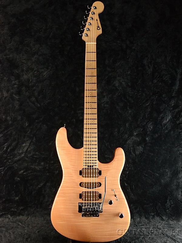 Charvel Guthrie Govan Signature Model / Flame Maple Top #GG1500631 新品[シャーベル][Stratocaster,ストラトキャスタータイプ][ガスリーゴーヴァン][フレイムメイプル][Natural,ナチュラル][Electric Guitar,エレキギター]