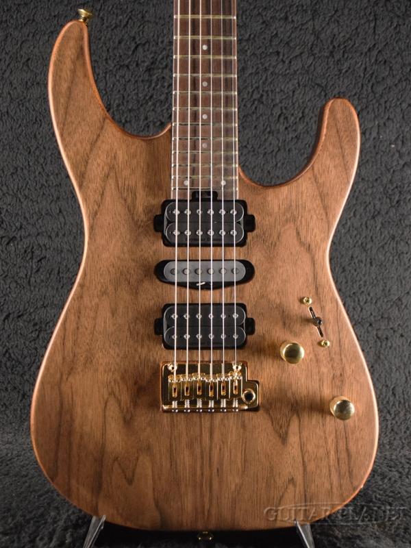 Charvel MJ DINKY DK24 HSH 2PT E MAH NATURAL 新品[シャーベル][日本製][ナチュラル][Stratocaster,ストラトキャスタータイプ][Electric Guitar,エレキギター]