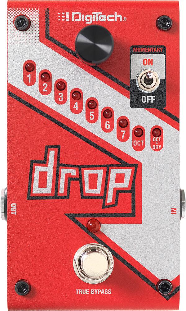 DigiTech Drop 新品[デジテック][ドロップ][Pitchshifter,ピッチシフター][Effector,エフェクター]