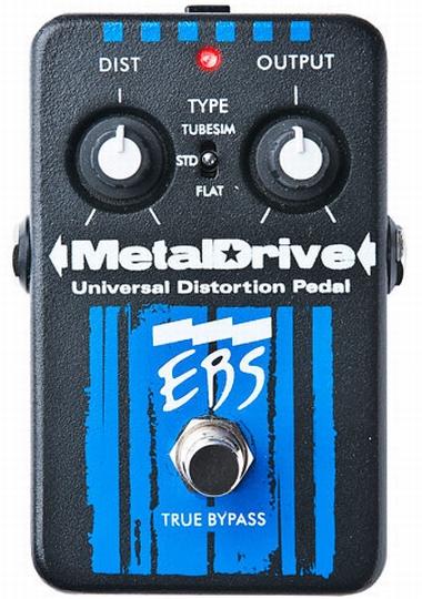 EBS Metal Drive 新品 ディストーション[メタルドライブ,Distortion][Bass,ベース用][Effector,エフェクター]
