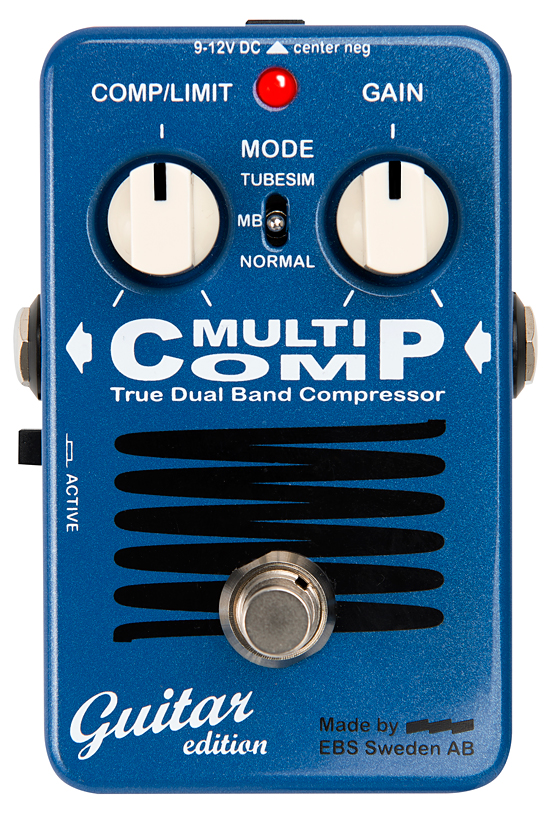 【新品特価】EBS MultiComp Guitar edition コンプレッサー[マルチコンプ][ギター用][Multi Comp,Compressor][Effector,エフェクター]