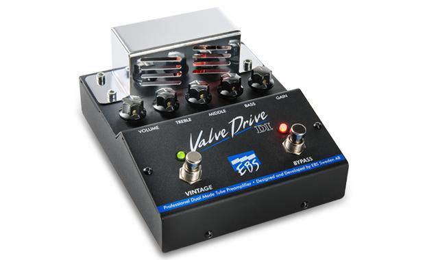 EBS ValveDrive DI 新品 ベースプリアンプ/オーバードライブ[バルブドライブ][真空管搭載,チューブ][Preamplifier][Overdrive][Bass][Effector,エフェクター]