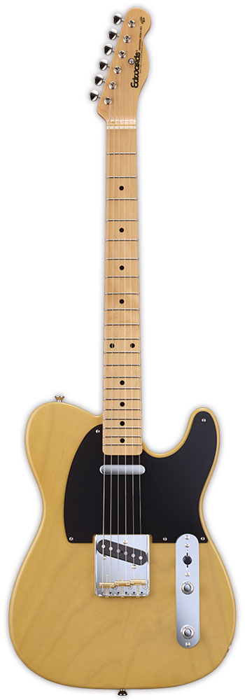 Edwards E-TE-98ASM 新品 バタースコッチ[エドワーズ][国産/日本製][Telecaster,テレキャスタータイプ][Butter Scotch,Yellow,イエロー,黄][Electric Guitar,エレキギター]