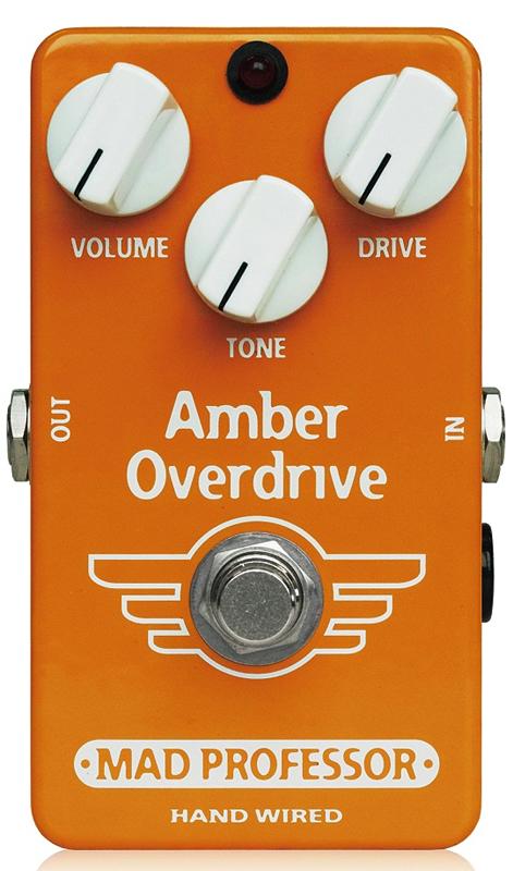 MAD PROFESSOR Amber Overdrive新品 オーバードライブ[マッドプロフェッサー][アンバー][Overdrive][Effector,エフェクター]