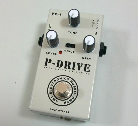 【受注生産】AMT P-Drive 新品 ディストーション [AMTエレクトロニクス][Pドライブ][Distortion][Effector,エフェクター]