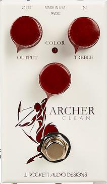 J.ROCKETT AUDIO DESIGNS Tour Series Archer Clean 新品 [ジェイロケットオーディオ][アーチャークリーン][オーバードライブ,ブースター][Effector,エフェクター,Pedal,ペダル]