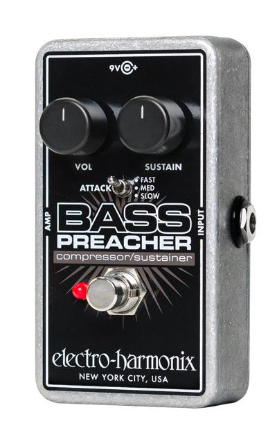 【正規品】electro-harmonix Bass Preacher 新品 コンプレッサー/サスティナー[エレクトロハーモニクス,エレハモ][ベースプリーチャー][Compressor][Sustainer][Effector,エフェクター][動画]