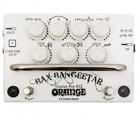 Orange Bax Bangeetar Guitar Pre-EQ White 新品[オレンジ][バックス][プリEQ][ストンプボックス][ホワイト,白][Effector,エフェクター]