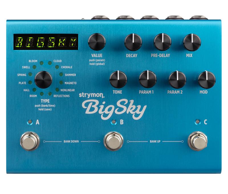 strymon BigSky 新品 リバーブ[ストライモン][Damage Control,ダメージコントロール][ビッグスカイ][Reverb][Effector,エフェクター]