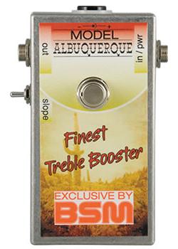 BSM Albuquerque 新品 ハイゲイン・トレブルブースター[Booster][Bad Company][アルバカーキ・ライブ][Effector,エフェクター]
