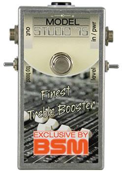 【即納可能】BSM Studio '75 新品 ブースター[Booster][Ritchie Blackmore,リッチーブラックモア,Rainbow][Effector,エフェクター]