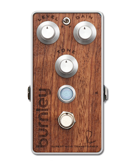Bogner BURNLEY / The Studio Series Bubinga exotic hardwood top panel 新品 ディストーション[ボグナー][Distortion][Effector,エフェクター]