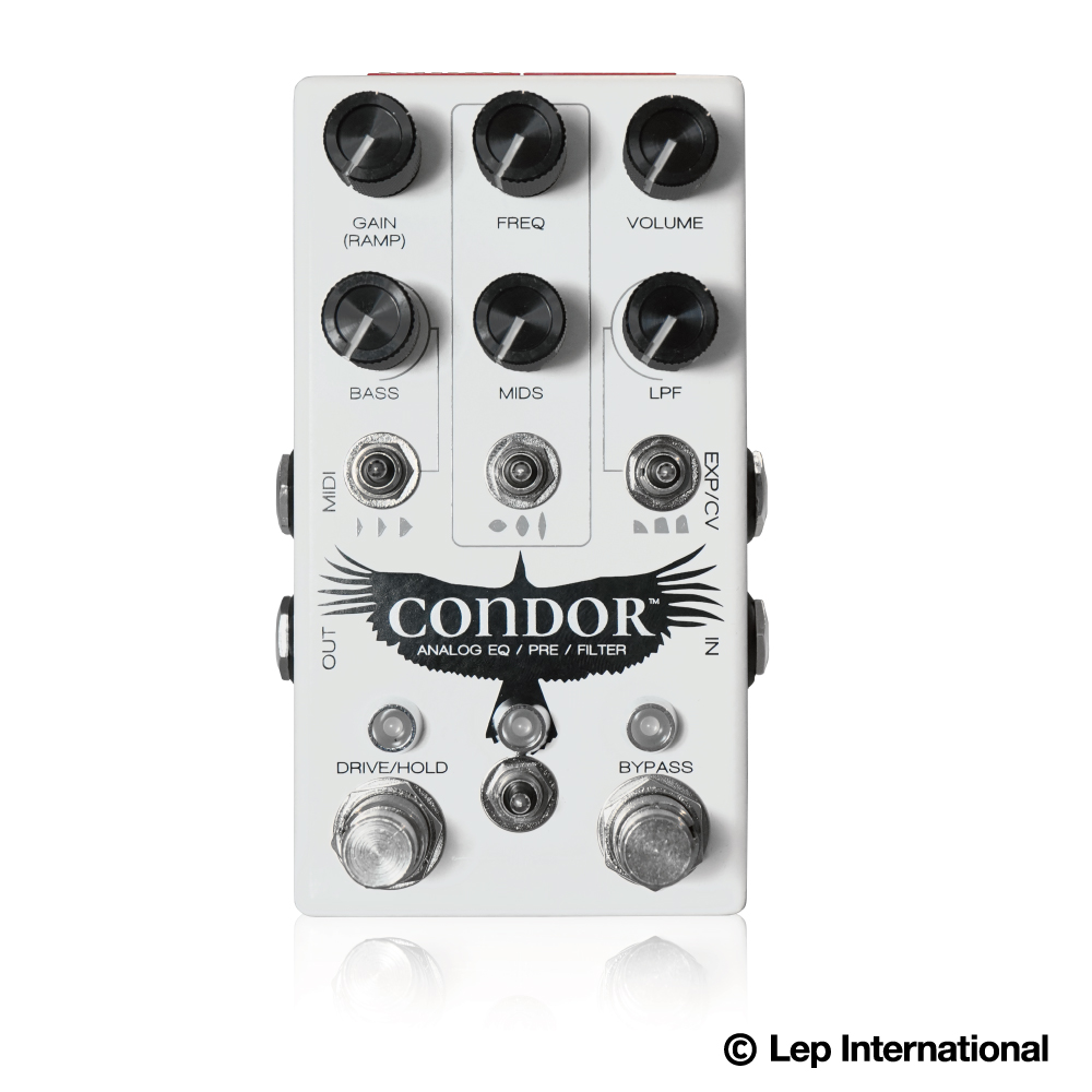 Chase Bliss Audio Condor 新品 EQ、オーバードライブ、ブースト、トレモロ、フィルター[チェイスブリスオーディオ][コンドル][Effector,エフェクター]