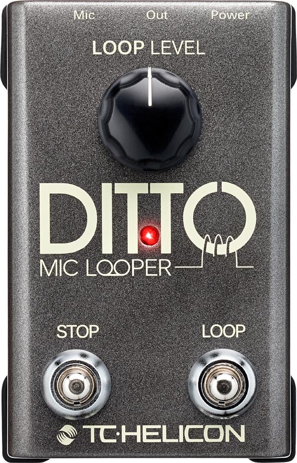 TC-Helicon Ditto Mic Looper 新品 マイクルーパー[TCヘリコン][ディットーマイクルーパー][Vocal Effector,エフェクター]