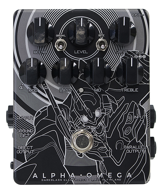 Darkglass Electronics Alpha Omega Japan Limited (EVA 初号機ver.) 新品 ベース用プリアンプ[ダークグラスエレクトロニクス][EVANGELION,ヱヴァンゲリヲン][アルファオメガ][Bass Preamp,Overdrive][Effector,エフェクター]