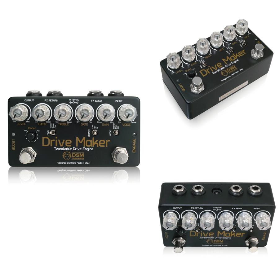 DSM Noisemake Drive Maker 新品オーバードライブ/ディストーション/ファズ[ノイズメーカー][ドライブメーカー][Effector,エフェクター]【used_エレキギター】