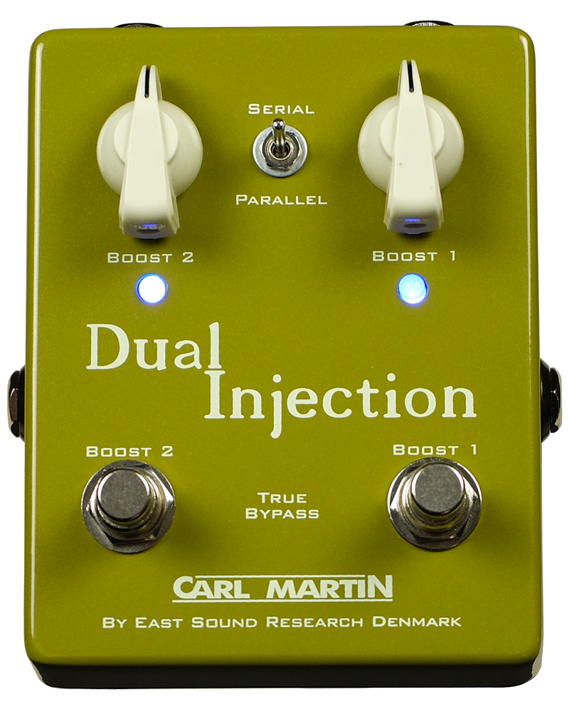 CARL MARTIN Dual Injection 新品 ブースター[カールマーチン][デュアルインジェクション][Booster][Effector,エフェクター]