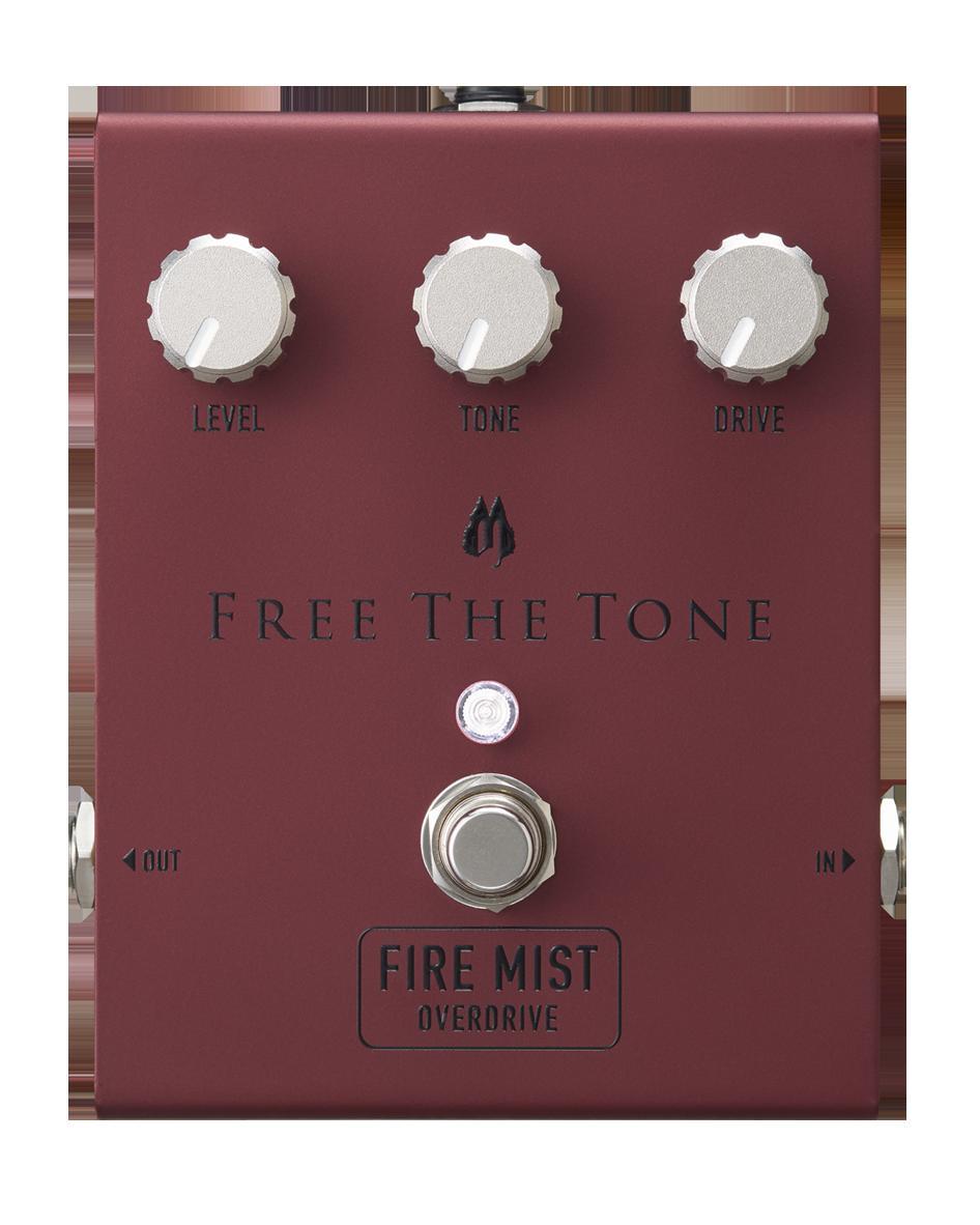 Free The Tone FIRE MIST FM-1V 新品 ドライブ[フリーザトーン][ファイヤーミスト][オーバードライブ,ディストーション][Effector,エフェクター]