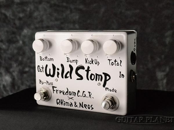 Freedom CUSTOM GUITAR RESEARCH Wild Stomp ホワイト 新品 ベース用プリアンプ[フリーダム][国産][ワイルドストンプ][White,白][Bass Pre Amplifier][Effector,エフェクター]_otherfx