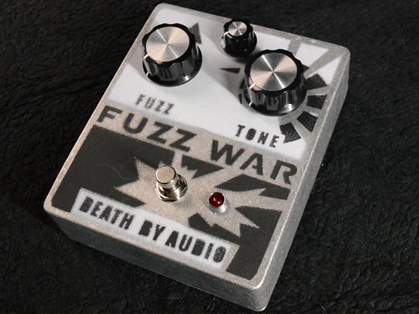 Death By Audio Fuzz War 新品 ファズ [デスバイオーディオ][ファズウォー][Effector,エフェクター]