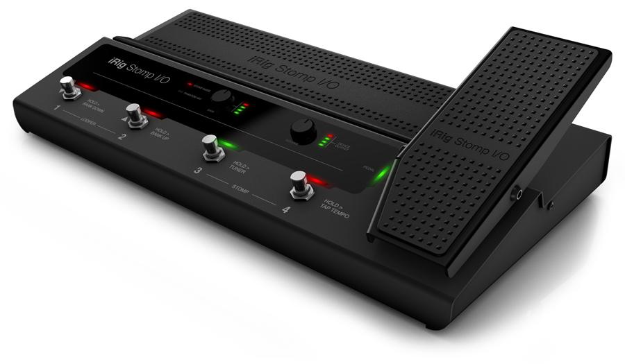 iRig Stomp I/O IK Multimedia 新品 iPhone/iPod Touch/iPad用ストンプボックス[IKマルチメディア][アイリグ][インターフェース][Effector,エフェクター]